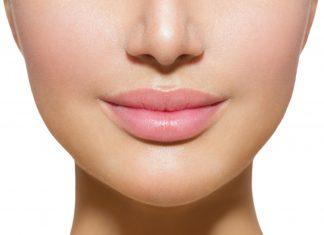 lippen voller schminken