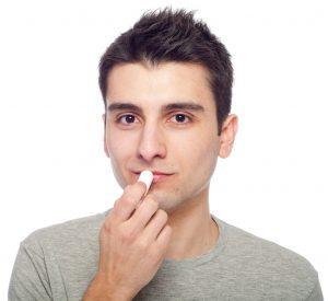 Lippenpflege auch für Männer