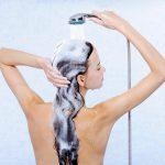 Haare waschen gegen Spliss