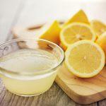 Zitrone gegen fettige Haut
