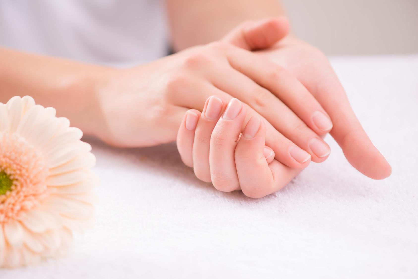 Handcreme zur Nachtpflege
