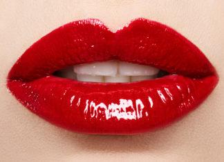Lippenstift Anwendung