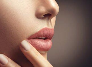 Lippen matt schminken
