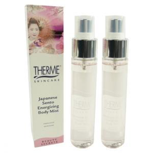 Therme Skincare Japanese Sento Energizing Body Mist - Haut Pflege Spray - 2x60ml