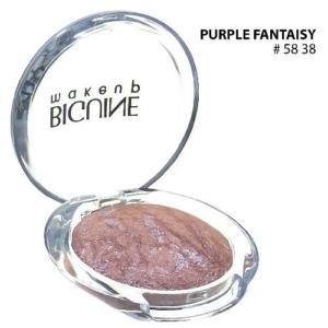 BIGUINE MAKE UP PARIS STAR LIGHT EYES SHADOW - Lidschatten Augen Kosmetik - 2g - 5838 Purple Fantaisy