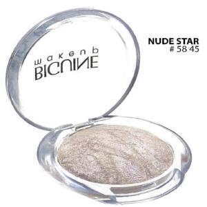 BIGUINE MAKE UP PARIS STAR LIGHT EYES SHADOW - Lidschatten Augen Kosmetik - 2g - 5845 Nude Star
