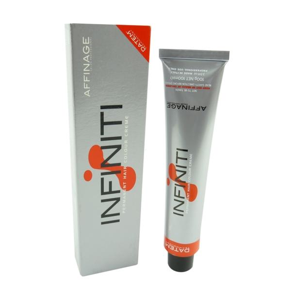 Affinage Infiniti Permanent Hair Colour Creme - Haar Farbe Farbauswahl - 100ml - 06.33 Dark Blonde Gold Intensive / Dunkelblond Gold Intensiv