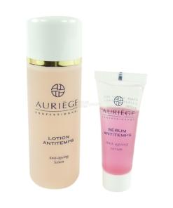 Auríege Paris Anti Aging Set 3-teilig - Pflege Maske + Serum Antitemps + Lotion