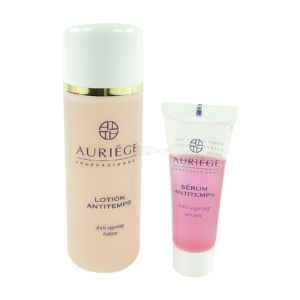 Auríege Paris Anti Aging Set 3-teilig - Pflege Maske + Serum Antitemps + Lotion