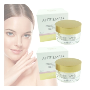 Auriege Paris Antitemps+ Soin Global Pflege Creme Anti Aging MULTIPACK 2x50ml