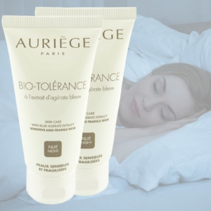 Auriege Paris Bio Tolerance Blue Agerate - Nacht Pflege Creme - MULTIPACK 2x50ml