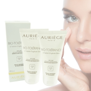 Auriege Paris Bio Tolérance Blue Agerate Tages Creme Gesicht - MULTIPACK 2x50ml
