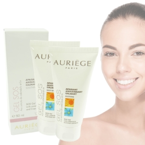 Auriege Paris - Gel SOS - Pflege - gereizte sensible Haut - MULTIPACK 2x50ml