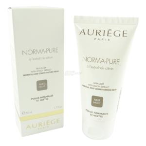 Auriege Paris Norma Pure - Gesicht Nacht Pflege - normale + Mischhaut - 50ml