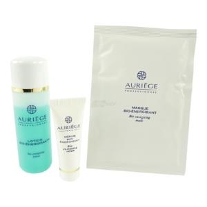 Auriege Paris Soin Bio Energisant - Pflege Set Gesicht Maske Lotion Serum - 3tlg
