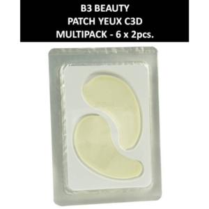 B3 - Patch Yeux C3D - Collagen - Kosmetik - Augen-Pflege - 6 Paar