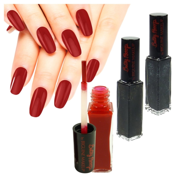 Biguine Make Up Paris Nagel Lack - Farbe Maniküre Nail Polish Lacquer - 7ml - BB110 Rouge Betty