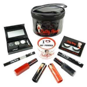 BIGUINE MAKE UP PARIS BETTY BOOP - Augen Lippen Teint Schmink Tasche Set 10-tlg - Set silver/silber