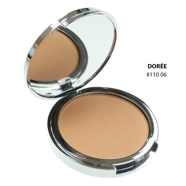 Biguine Make Up Paris Compact Powder - Kompakt Puder Teint Gesicht Make up 10g - 11006 Doree