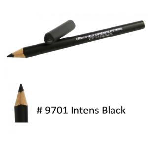 BIGUINE MAKE UP PARIS Crayon Yeux Expressive Eye Pencil - Augen Liner - 1,2g - 9701 Intens Black