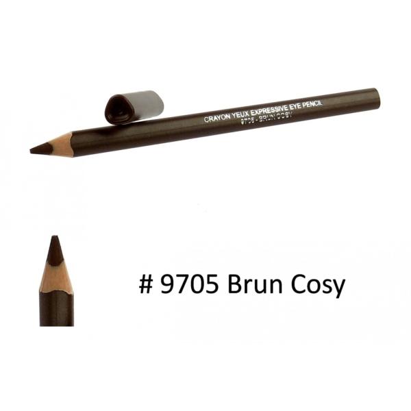 BIGUINE MAKE UP PARIS Crayon Yeux Expressive Eye Pencil - Augen Liner - 1,2g - 9705 Brun Cosy