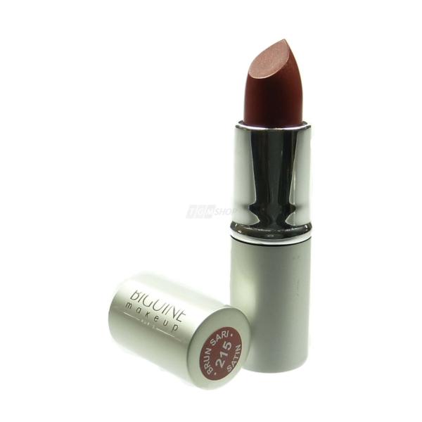 Biguine Make Up Paris Rouge a Levres Satin Lippen Stift Farbe langanhaltend 3,5g - Brun Sari