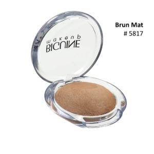 BIGUINE MAKE UP PARIS STAR LIGHT EYES SHADOW - Lidschatten Augen Kosmetik - 2g - 5817 Brun Mat