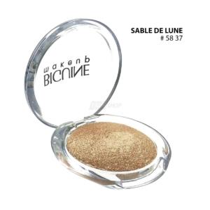 BIGUINE MAKE UP PARIS STAR LIGHT EYES SHADOW - Lidschatten Augen Kosmetik - 2g - 5837 Sable de Lune