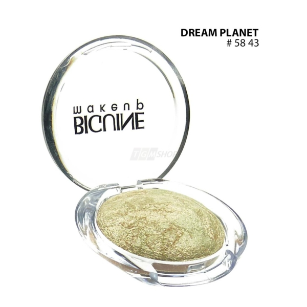 BIGUINE MAKE UP PARIS STAR LIGHT EYES SHADOW - Lidschatten Augen Kosmetik - 2g - 5843 Dream Planet