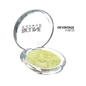 BIGUINE MAKE UP PARIS STAR LIGHT EYES SHADOW - Lidschatten Augen Kosmetik - 2g - 5853 Or Vintage