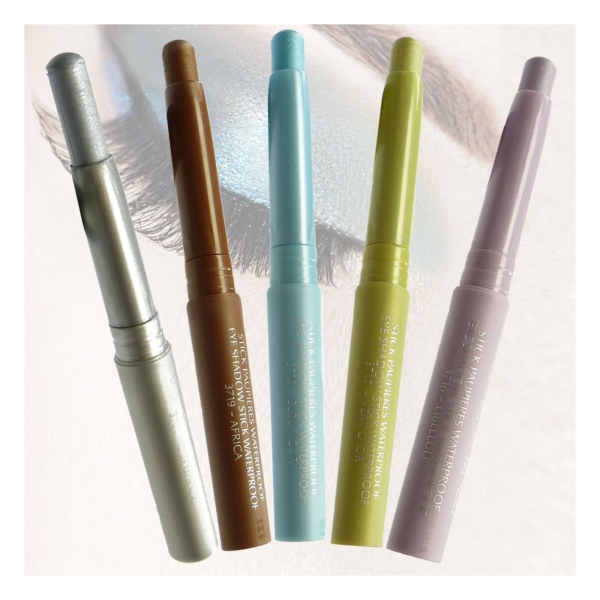 BIGUINE MAKE UP PARIS STICK PAUPIERES WATERPROOF - Lidschatten Augen Farbe 2,5g - 3724 Vert d´Hiver
