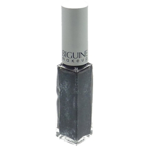 Biguine Make Up Paris Vernis a Ongles Couleur et Soin Nagel Lack Maniküre 6,5ml - 6141 Black Silver