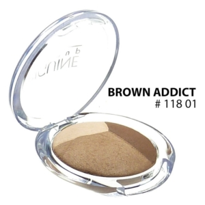 BIGUINE PARIS - BASICS TRIO EYES SHADOW 11801 Brown Addict - Lidschatten - 2.2g