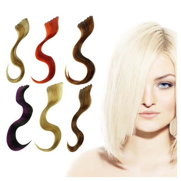 Balmain - hairXpression color - memory hair - Extension Haarteil Verlängerung - spicy red