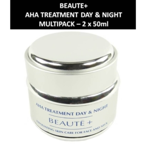 Beaute+ - AHA Treatment Day + Night - Tages + Nacht Creme Haut Pflege 2 x 50ml