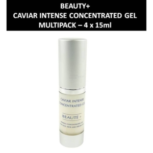 Beaute+ - Caviar Intense Concentrated Gel Straffende Gesichtspflege - 4 x 15ml