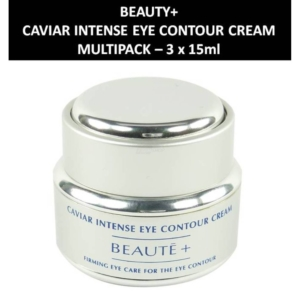 Beaute+ - Caviar Intense Eye Contour Cream - Straffende Augenpflege - 3 x 15ml