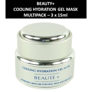Beaute+ - Cooling Hydration Gel Mask - Maske - Gesichtspflege - 3 x 15ml