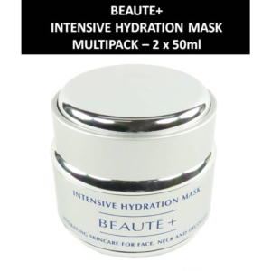 Beaute+ - Intensive Hydration Mask - Maske - Gesichts Pflege Kosmetik 2 x 50ml