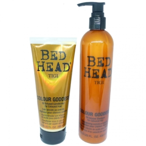 Bed Head Colour Goddess Oil Infused Shampoo + Conditioner Haar Repair Pflege