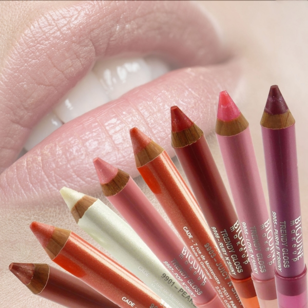 Biguine Make Up Paris Trendy Gloss - Lip Color Lippen Stift Farbe - 2,32g - 9905 Purple n´shiny