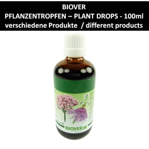 Biover - Pflanzen Tropfen - Nahrungs Ergänzung Mineralien Homöopathie 100ml - Glucoplan