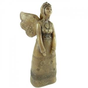 Bougies La Francaise Angel Factory großer Engel Bronze Figur Kerze 650 Gramm