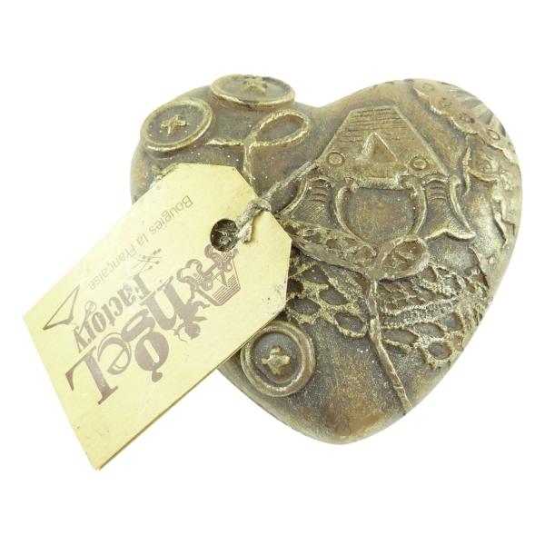 Bougies La Francaise Angel Factory kleines Herz bronze Multipack 2x214 gramm
