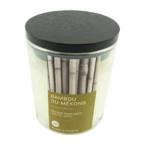 Bougies La Francaise Bambus Duft Kerze Bambou du Mekong im Glas mit Deckel 400g