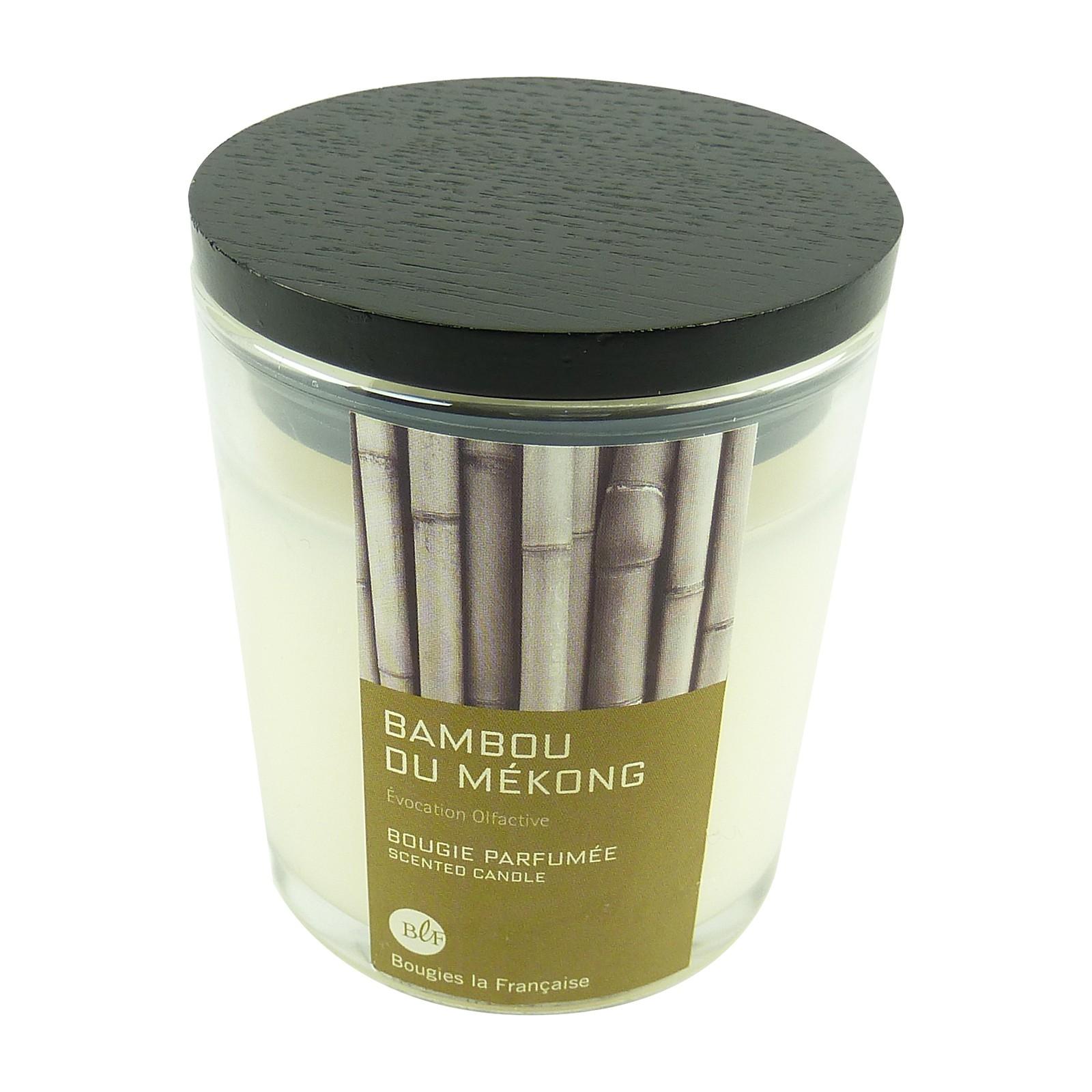 Bougies La Francaise Bambus Duft Kerze Bambou Du Mekong Im Glas Mit
