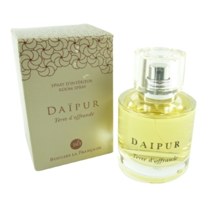 Bougies la Francaise Room Spray - Raum Parfum Luft Erfrischer Duft Wellness 50ml - Daipur - Terre d´offrande
