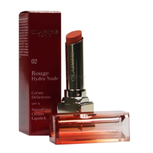 Clarins Rouge Hydra Nude SPF 6 - Creme Lippen Stift Farbe Pflege Make up - 3g - 02 nude coral