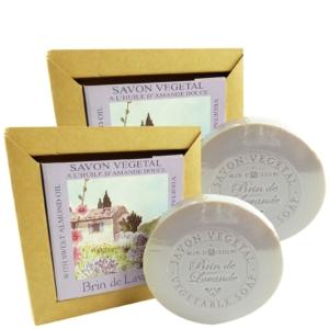 Clos d'Aguzon Brin de Lavande Savon Vegetal - Lavendel Seife - MULTIPACK 2x100g