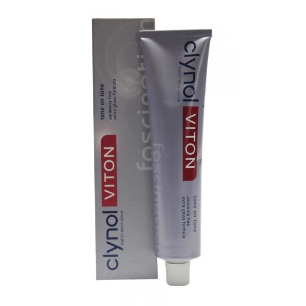 Clynol Viton Fascination Tone on Tone - Haar Farbe Coloration ohne Ammoniak 60ml - # 4.0 Medium Brown